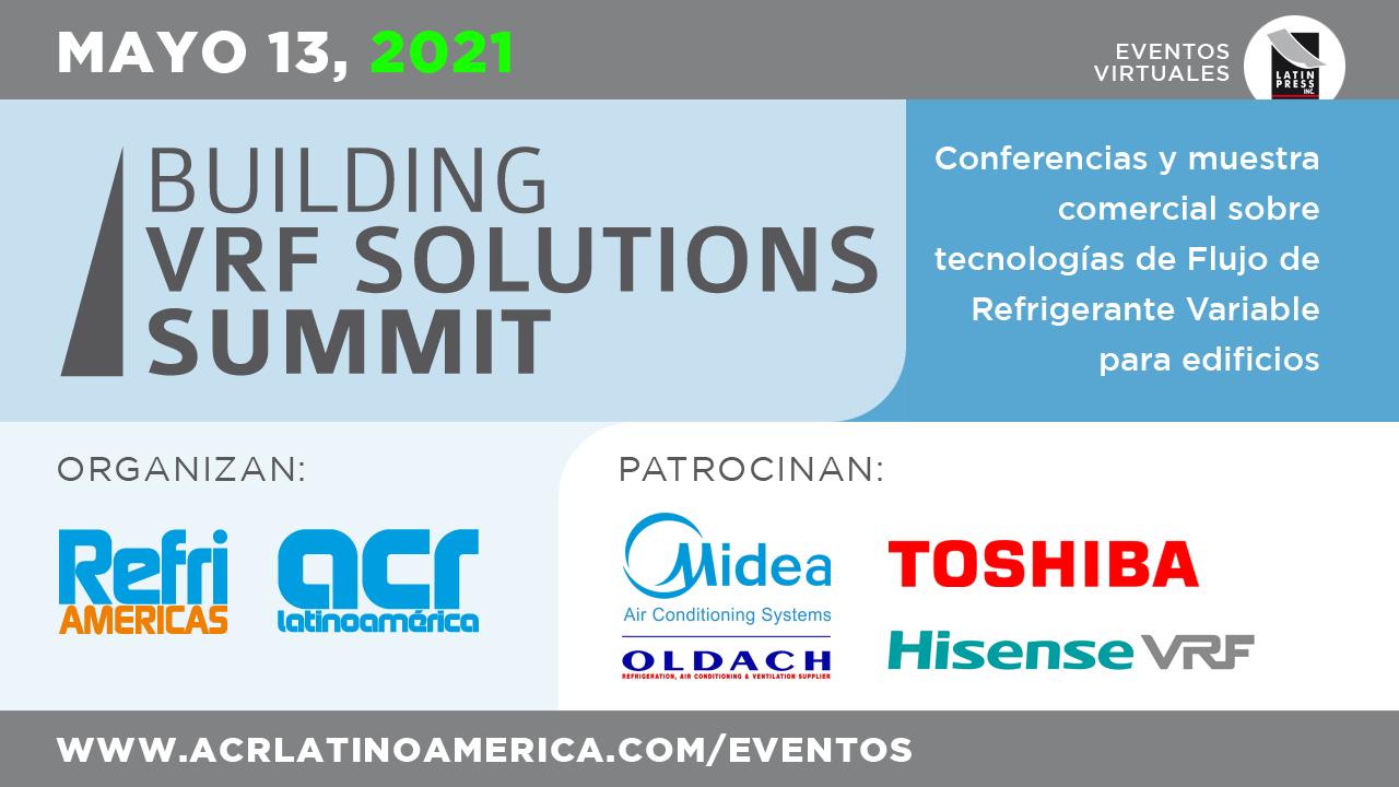 Conferencias y muestra comercial sobre tecnologías de Flujo de Refrigerante Variable para edificios