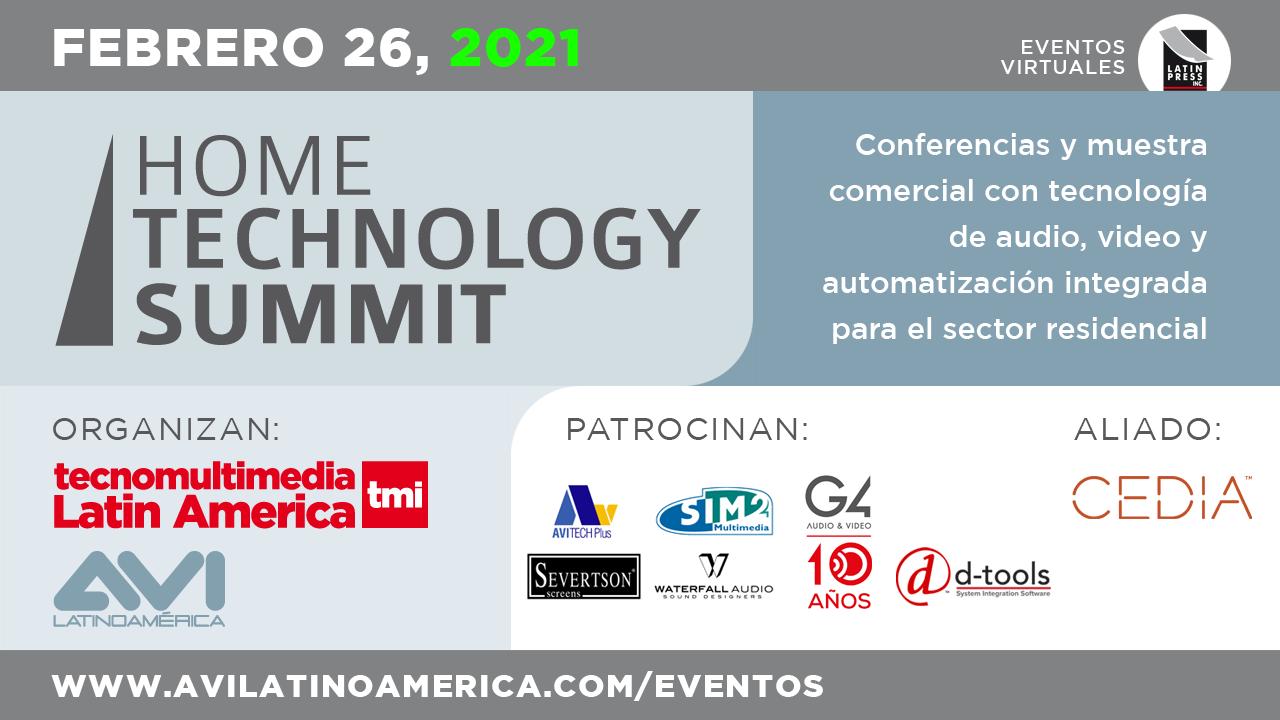 Conferencias y muestra comercial con tecnología de audio, video y automatización integrada para el sector residencial