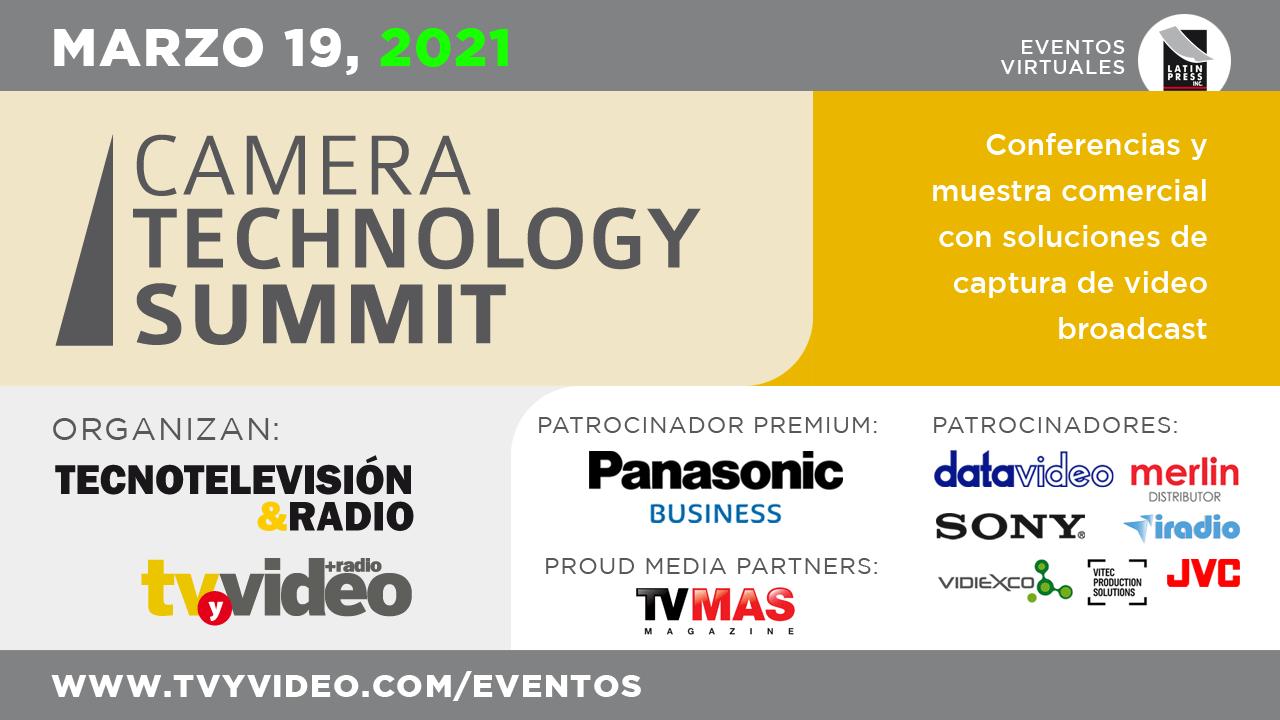 Conferencias y muestra comercial con soluciones de captura de video broadcast