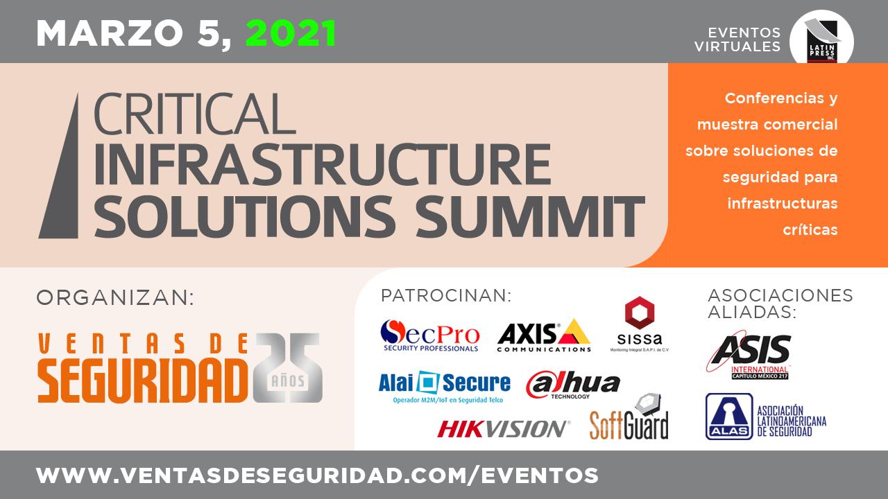 Conferencias y muestra comercial sobre soluciones de seguridad para infraestructuras críticas