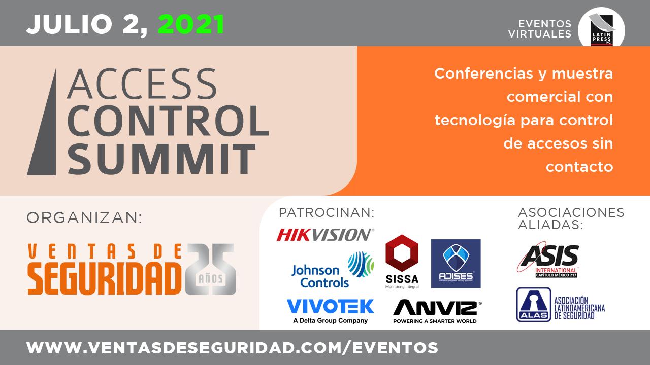 Conferencias y muestra comercial con tecnología para control de accesos sin contacto