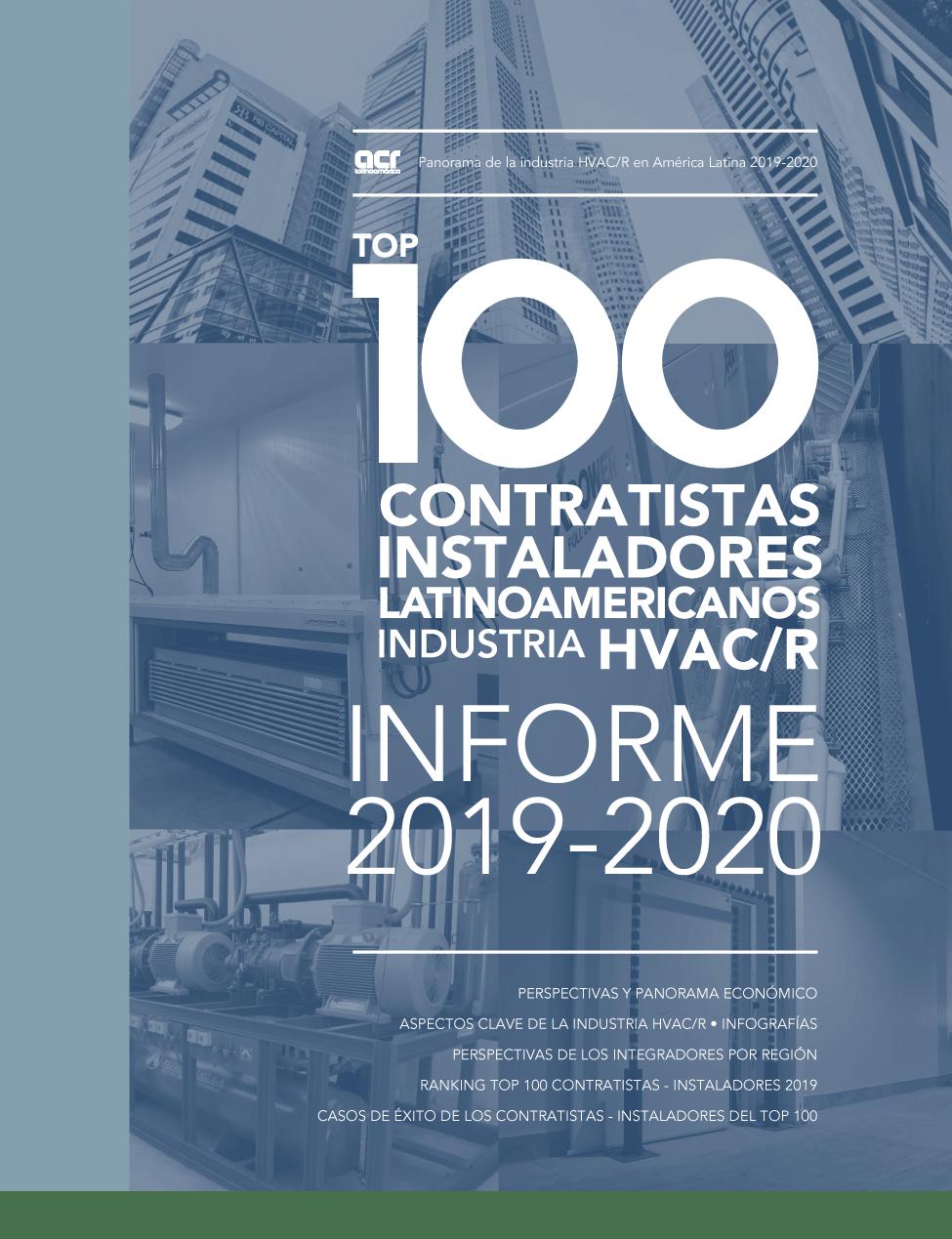 TOP 100 CONTRATISTAS EN HVACR • 2019-2020 Image