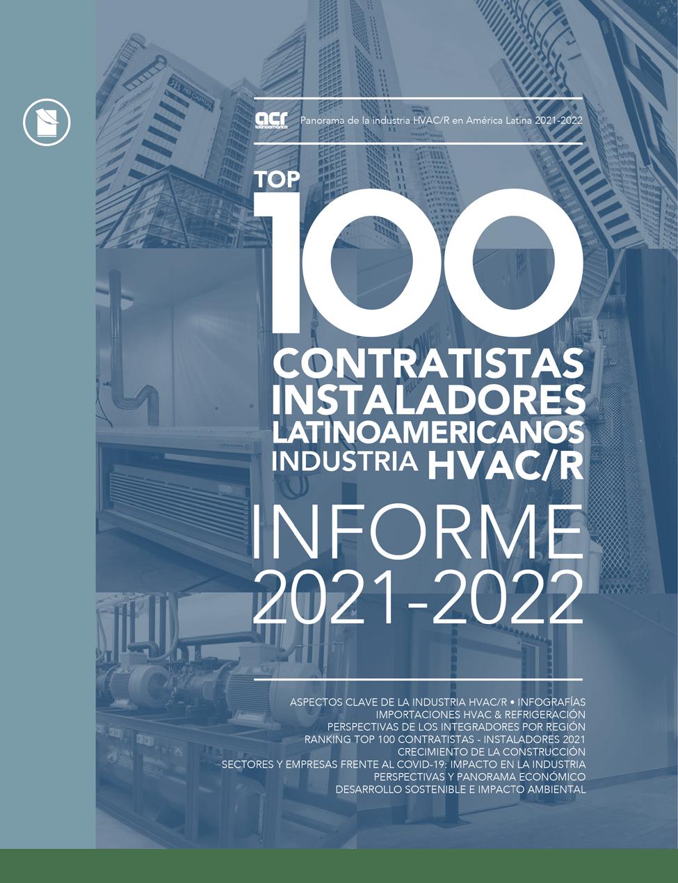TOP 100 CONTRATISTAS • INSTALADORES EN HVACR • 2021-2022 Image