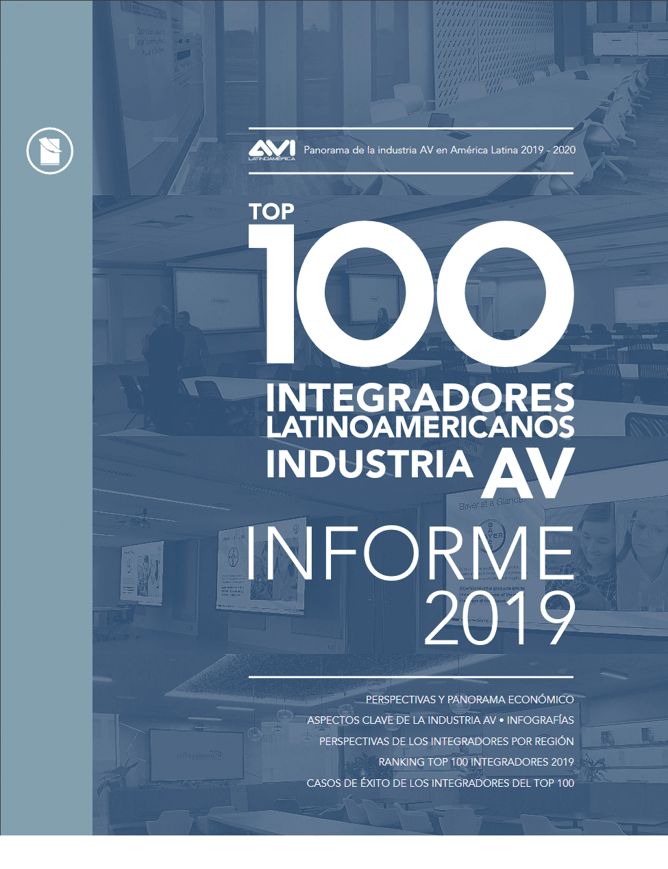 TOP 100 INTEGRADORES SISTEMAS A/V MULTIMEDIA • 2019-2020 Image