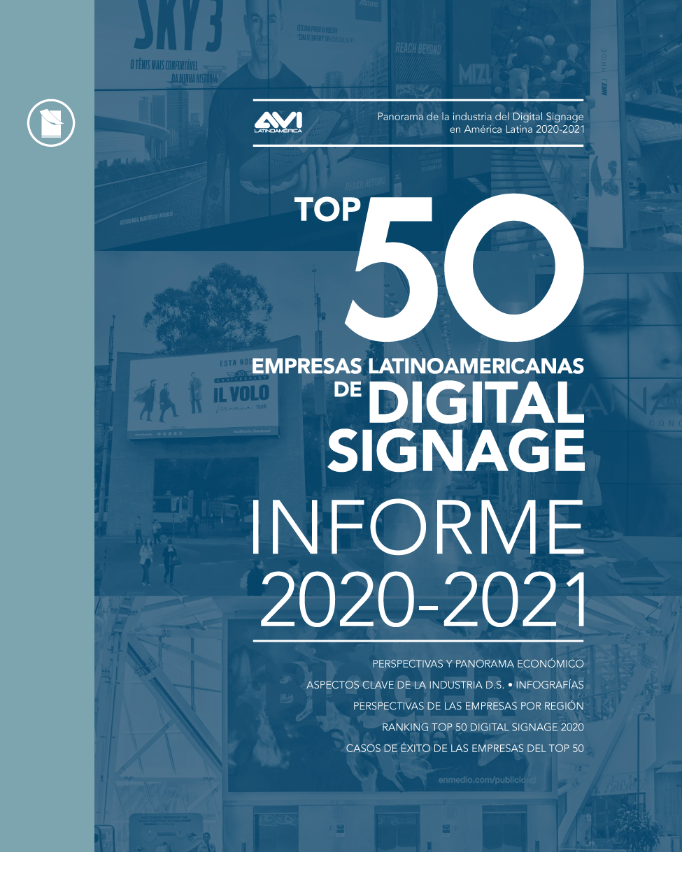 TOP 50 REDES DE DIGITAL SIGNAGE • 2020-2021 Image