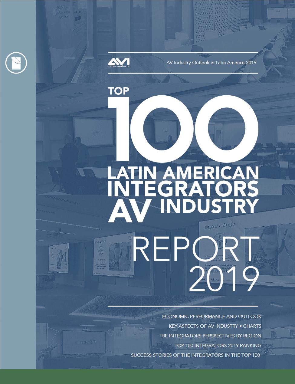 TOP 100 LATIN AMERICAN A/V SYSTEMS INTEGRATORS • 2019-2020 Image