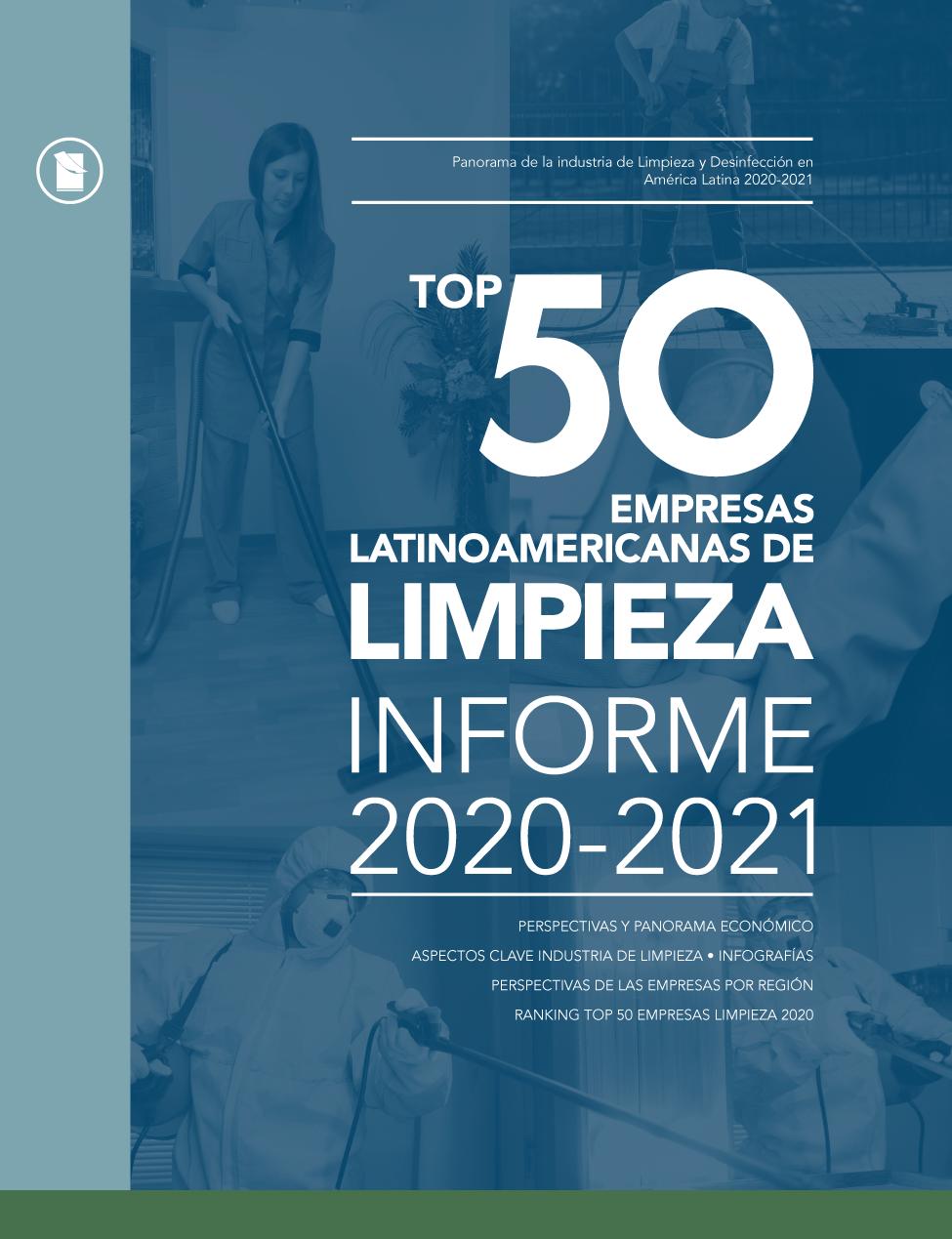 TOP 50 EMPRESAS DE LIMPIEZA • 2020-2021 Image