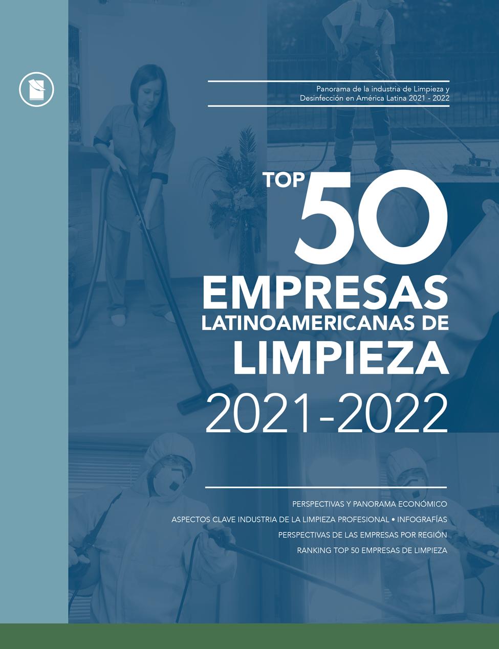 TOP 50 EMPRESAS LATINOAMERICANAS DE LIMPIEZA • 2021-2022 Image