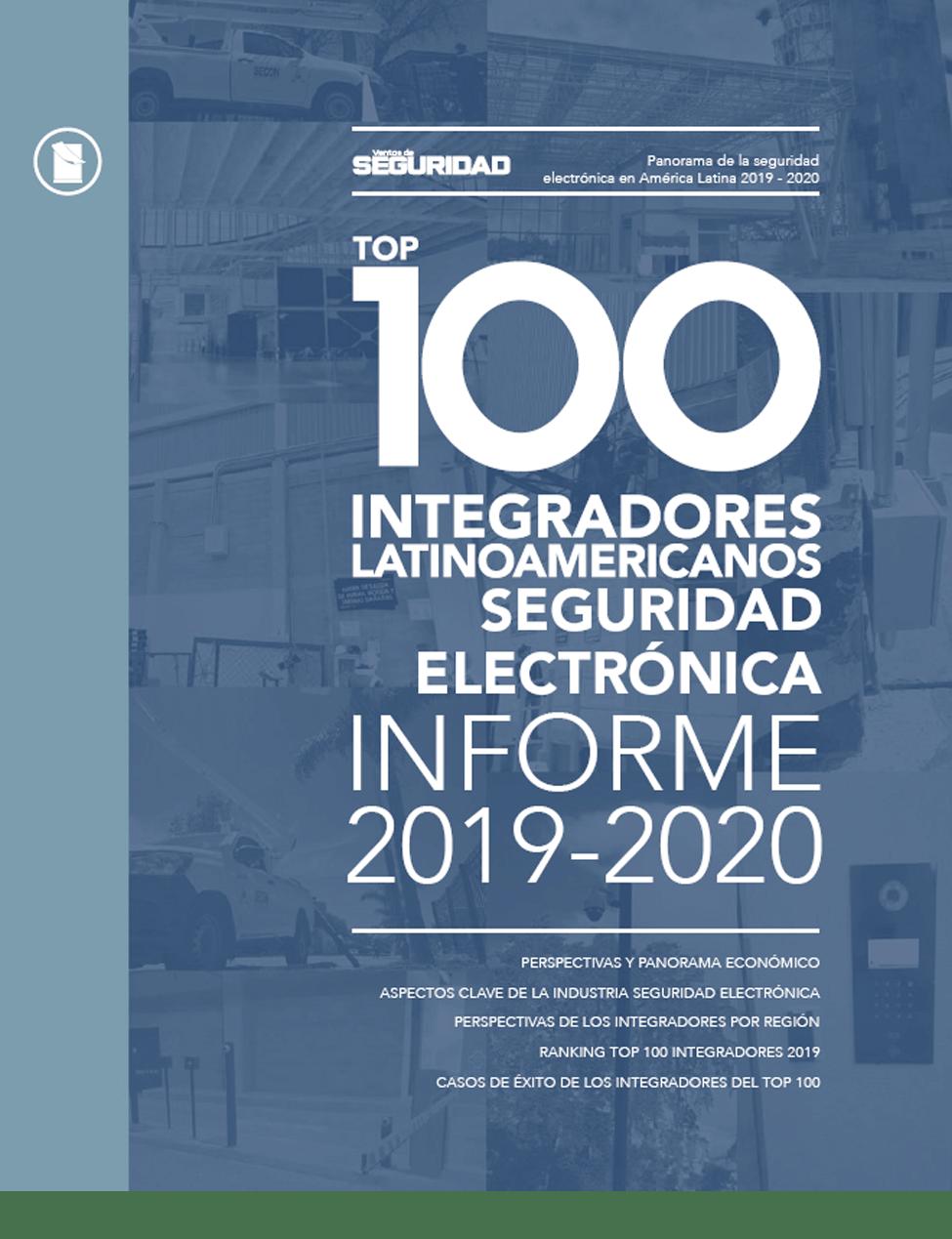 TOP 100 INTEGRADORES SEGURIDAD ELECTRÓNICA • 2019-2020 Image