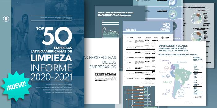 TOP 50 EMPRESAS DE LIMPIEZA • 2020-2021