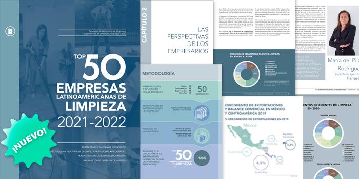 TOP 50 EMPRESAS LATINOAMERICANAS DE LIMPIEZA • 2021-2022