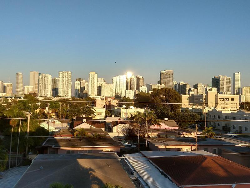 City of Miami Skyline